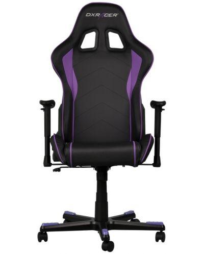 Геймърски стол DXRacer Formula - черен/лилав (OH/FE08/NV) - 3