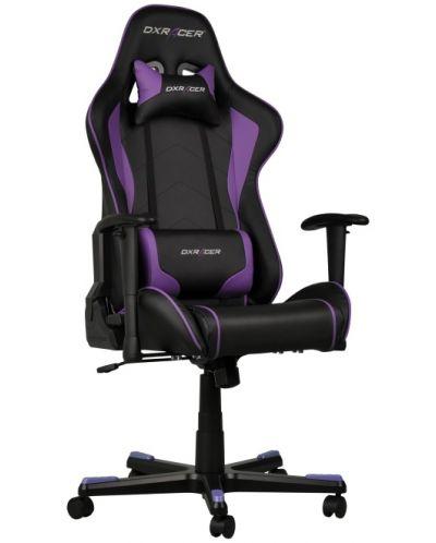 Геймърски стол DXRacer Formula - черен/лилав (OH/FE08/NV) - 6