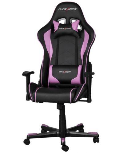 Геймърски стол DXRacer Formula - черен/розов (OH/FE08/NP) - 1