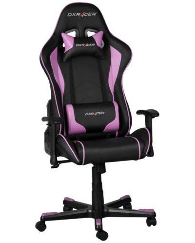 Геймърски стол DXRacer Formula - черен/розов (OH/FE08/NP) - 4