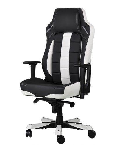 DXRacer CLASSIC Gaming Chair - черен/бял (OH/CBJ120/NW) - 1