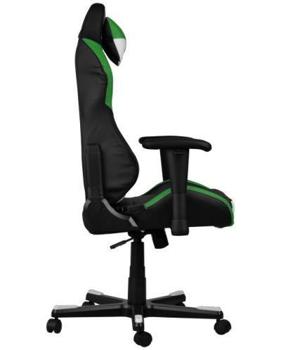 Геймърски стол DXRacer Drifting - черен/зелен/бял OH/DF61/NWE - 7