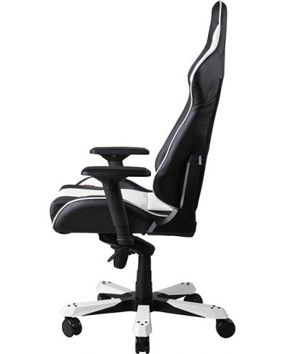 Геймърски стол DXRacer King - черен/бял (OH/KF06/NW) - 10