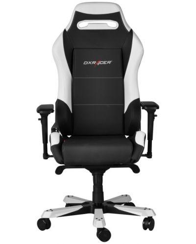 Геймърски стол DXRacer Iron - черен/бял (OH/IF11/NW) - 3