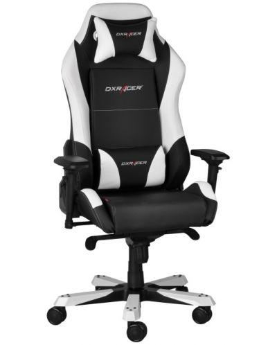 Геймърски стол DXRacer Iron - черен/бял (OH/IF11/NW) - 5