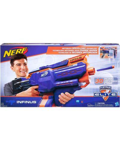 Бластер Hasbro Nerf N-Strike Elite - Инфинус, с 30 меки стрели - 1