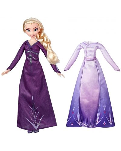 Кукла Hasbro Frozen 2 - Елза от Арендел, с 2 рокли - 2