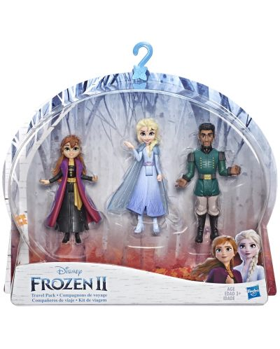 Комплект фигурки Hasbro Frozen 2 - Моменти от историята, Анна, Елза и Лейтанат Матиас - 1