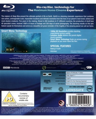 Earth (Blu-Ray) - 2