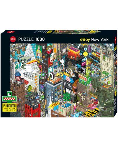 Пъзел-загадка Heye от 1000 части - New York Quest, eBoy - 1