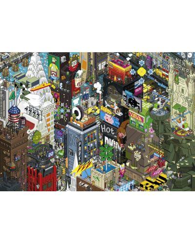 Пъзел-загадка Heye от 1000 части - New York Quest, eBoy - 2