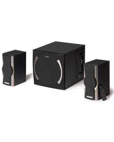 Мини аудио система Edifier XM6BT - 2.1, черна - 1