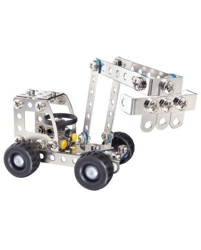 Метален конструктор Basic - Багер/ Камион от Eitech - 1
