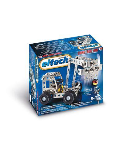 Метален конструктор Basic - Багер/ Камион от Eitech - 3