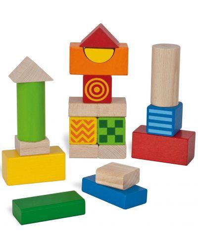 Дървени кубчета Eichhorn - Със звук - 1