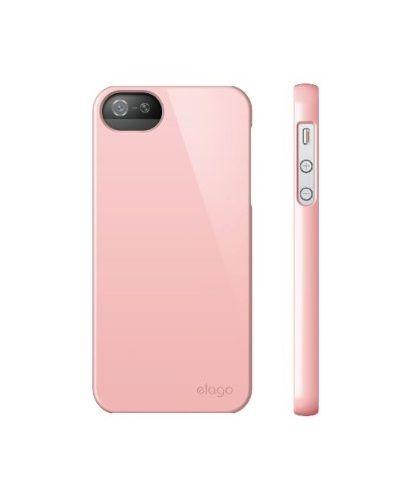 Elago S5 Slim Fit 2 Case за iPhone 5 -  светлорозов - 4