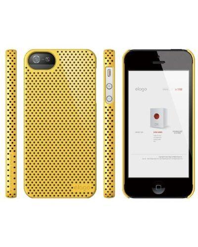Калъф Elago S5 Breathe за iPhone 5, Iphone 5s -  жълт - 5