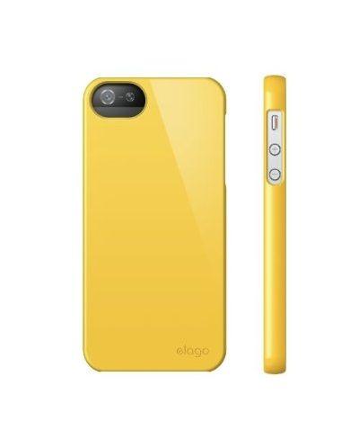 Elago S5 Slim Fit 2 Case за iPhone 5 -  жълт - 4