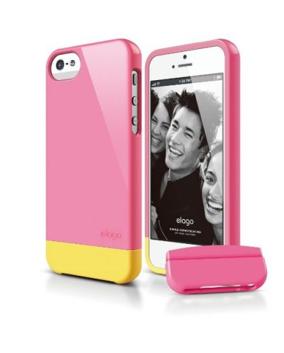 Калъф Elago S5 Glide за iPhone 5, Iphone 5s - тъмнорозов- - 1