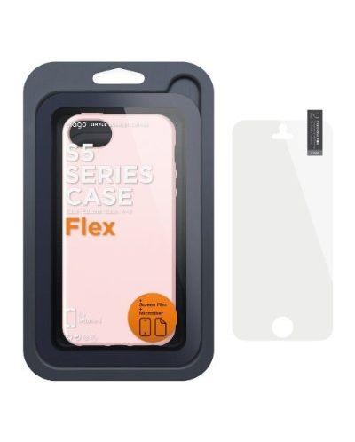 Калъф Elago S5 Flex за iPhone 5, Iphone 5s -  розов - 5
