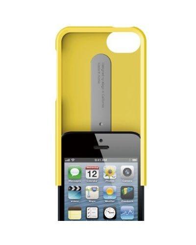 Калъф Elago S5 Glide за iPhone 5, Iphone 5s - жълт - 3