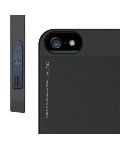 Elago S5 Outfit Aluminum за iPhone 5 -  черен - 5