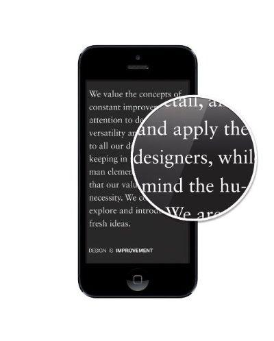 Elago S5 Leather Flip Case за iPhone 5 -  черен - 6