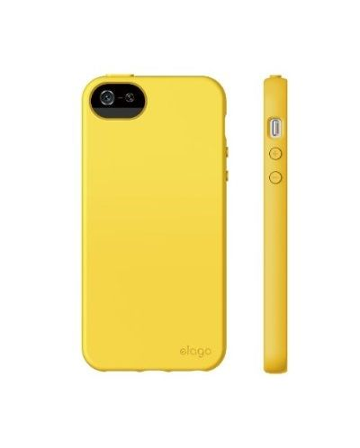 Калъф Elago S5 Flex за iPhone 5, Iphone 5s -  жълт - 7