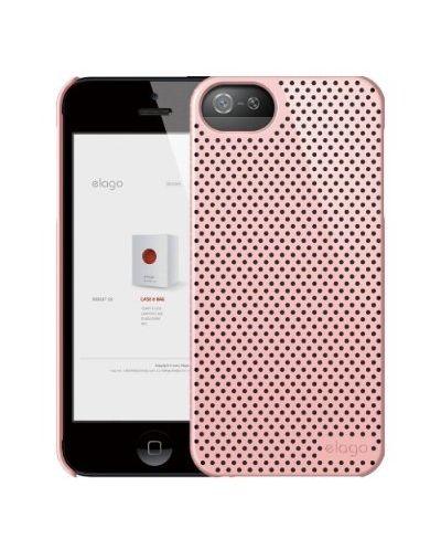 Калъф Elago S5 Breathe розов за iPhone 5 - 2