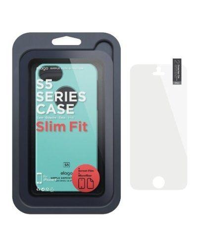 Elago S5 Slim Fit Case за iPhone 5 -  светлосин - 5