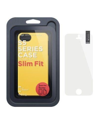 Elago S5 Slim Fit 2 Case за iPhone 5 -  жълт - 2