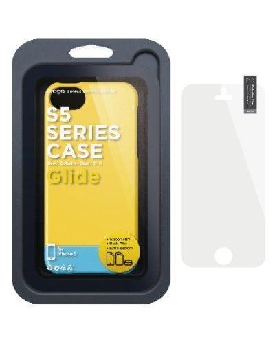 Калъф Elago S5 Glide за iPhone 5, Iphone 5s - жълт - 2