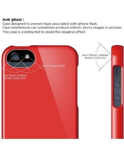 Калъф Elago S5 Glide за iPhone 5, Iphone 5s - червен-гланц - 6