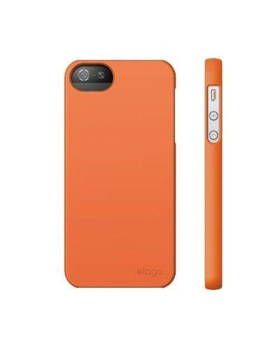 Elago S5 Slim Fit 2 Case за iPhone 5 -  оранжев - 3