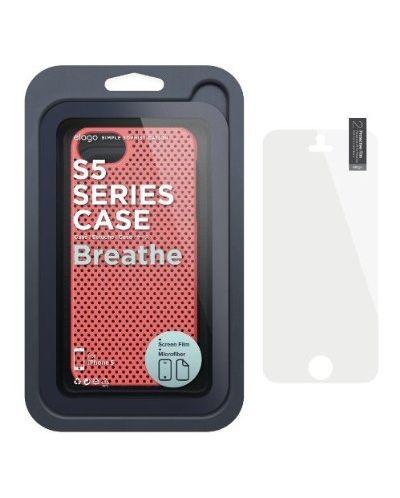 Калъф Elago S5 Breathe за iPhone 5, Iphone 5s -  светлочервен - 6