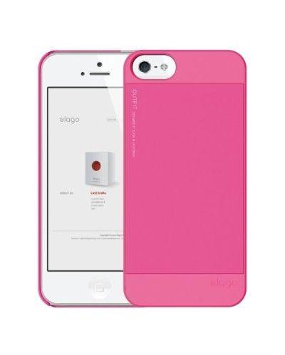 Elago S5 Outfit Aluminum за iPhone 5 -  розов - 3