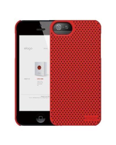 Калъф Elago S5 Breathe за iPhone 5, Iphone 5s -  червен - 2