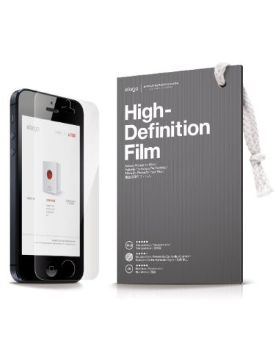 Elago S5 Slim Fit 2 Case за iPhone 5 -  светлорозов - 7