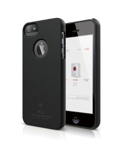 Elago S5 Slim Fit Case за iPhone 5 -  черен - 1