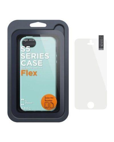 Калъф Elago S5 Flex за iPhone 5, Iphone 5s -  светлозелен - 2