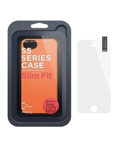 Elago S5 Slim Fit 2 Case за iPhone 5 -  оранжев - 2