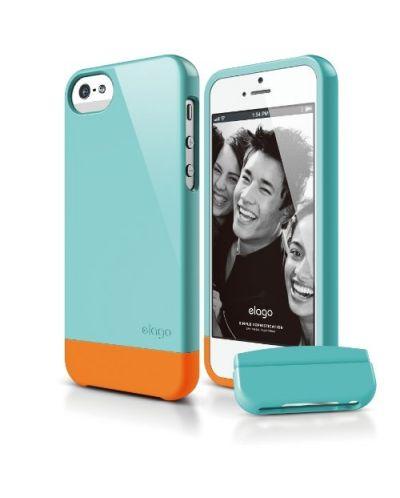 Калъф Elago S5 Glide за iPhone 5, Iphone 5s - светлосин - 1