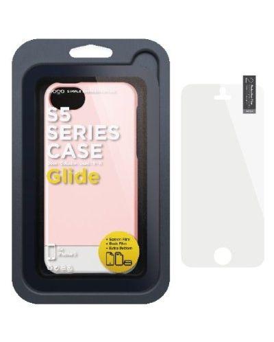 Калъф Elago S5 Glide за iPhone 5, Iphone 5s - светлорозов - 4