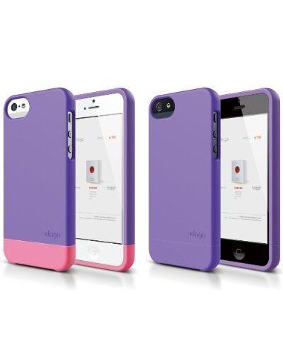 Калъф Elago S5 Glide за iPhone 5, Iphone 5s -  лилав-мат - 2