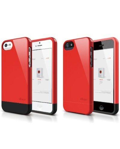 Калъф Elago S5 Glide за iPhone 5, Iphone 5s - червен-гланц - 2