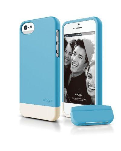 Калъф Elago S5 Glide за iPhone 5, Iphone 5s - син- - 1