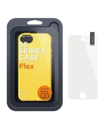 Калъф Elago S5 Flex за iPhone 5, Iphone 5s -  жълт - 5