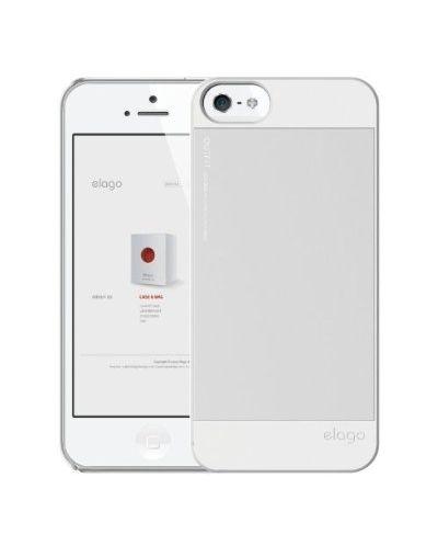 Elago S5 Outfit Aluminum за iPhone 5 -  бял - 4