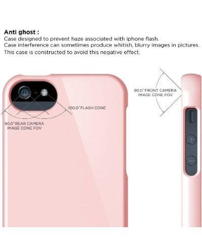 Калъф Elago S5 Glide за iPhone 5, Iphone 5s - светлорозов - 6