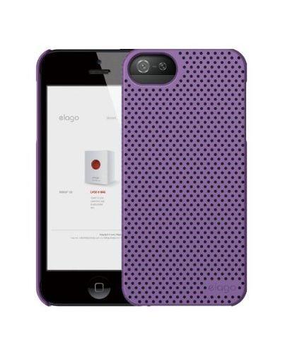 Калъф Elago S5 Breathe за iPhone 5, Iphone 5s -  лилав - 2